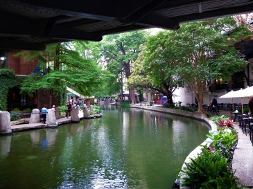 The San Antonio Riverwalk, or, Paseo del Rio.